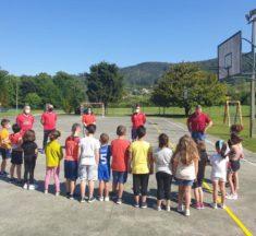 Os coles do municipio participan nas xornadas de fútbol organizadas pola SDR Neda