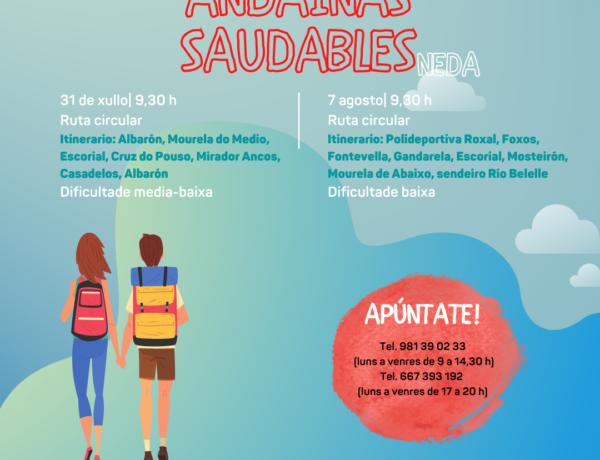 Inscrición aberta nas Andainas Saudables por Neda